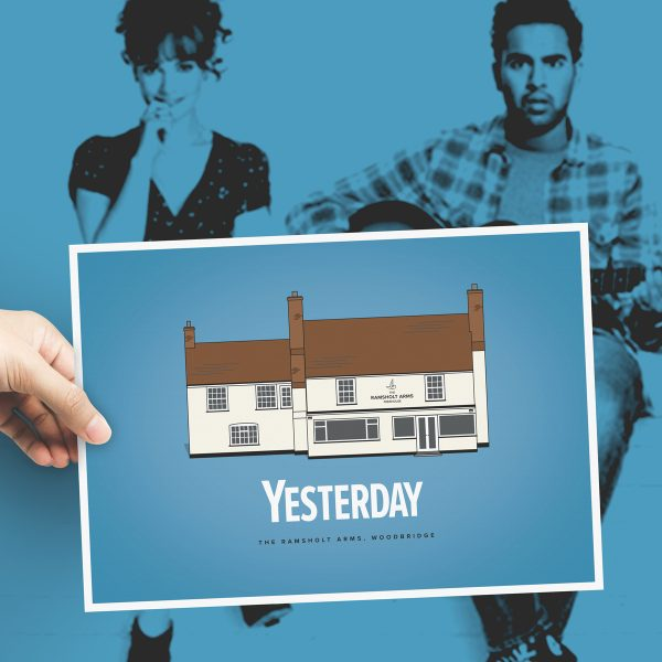 Yesterday Movie Poster featuring Ramsholt Arms