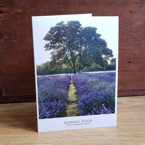 Carshalton Mayfield Lavender Greeting Card