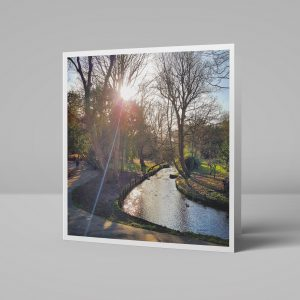 The Grove River Wandle Carshalton Greeting Card