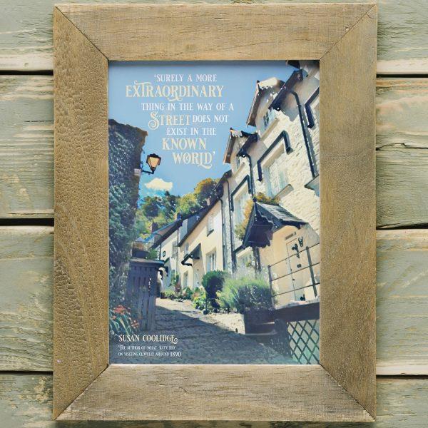 Clovelly Literary Print
