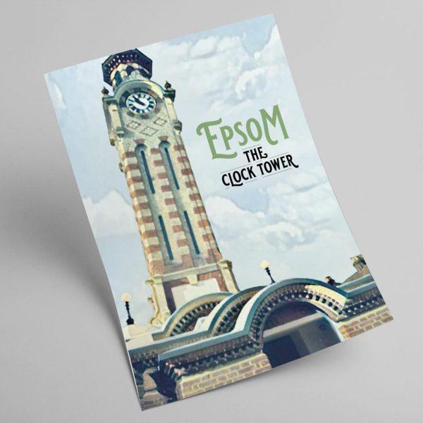Epsom Clock Tower A4 Print