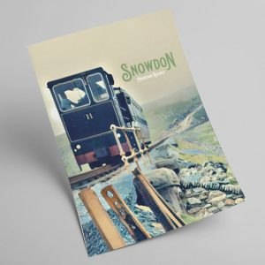 Snowdonia Railway A4 Print