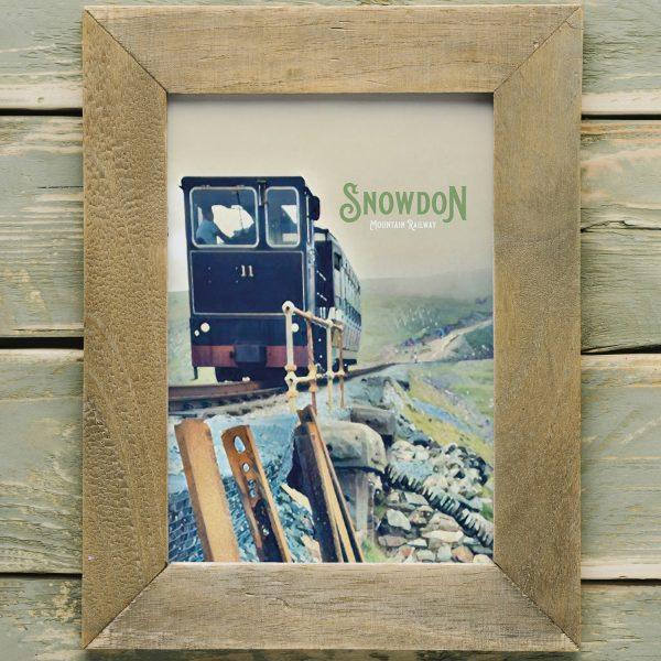 Snowdon Mountain Railway Print A4
