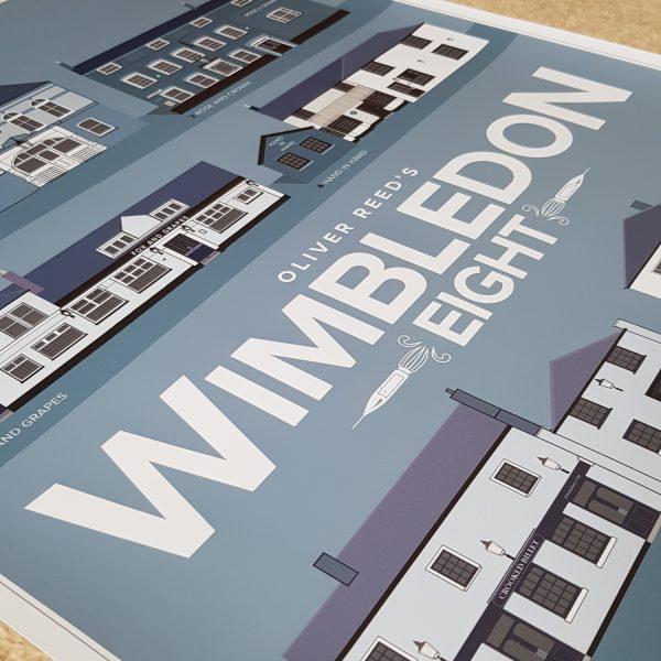 Wimbledon Pub Crawl Poster Unframed
