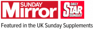 Sunday Mirror and Daily Star on Sunday Magazine logo